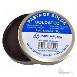 Pasta Para Soldar Soldatec 50g Implastec Não Condutiva